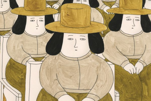 Small People with Hats